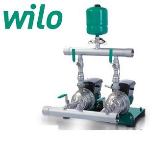 Cụm 2 bơm tăng áp biến tần Wilo PBI-LD402EA